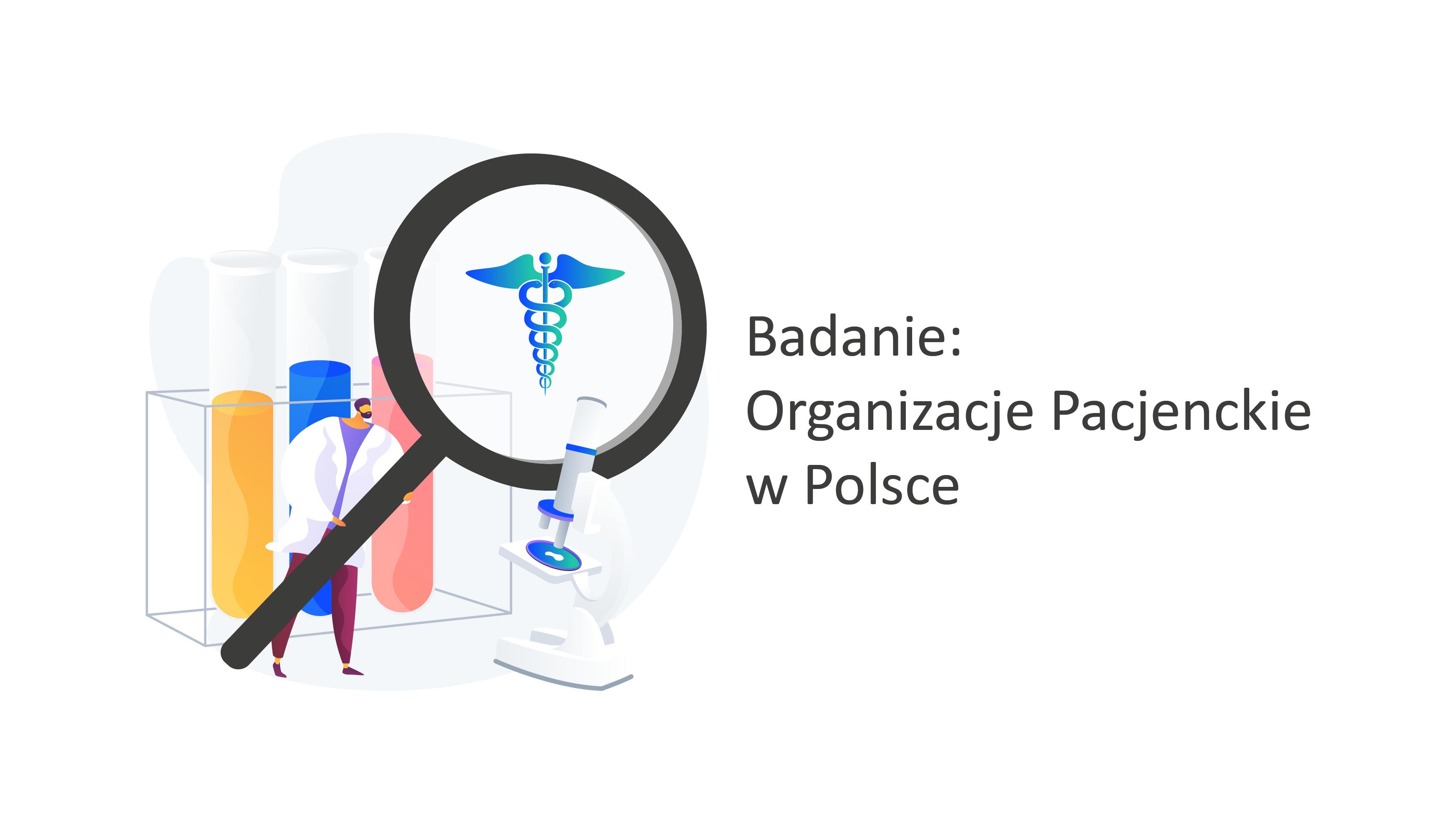 Badanie organizacje pacjenckie w Polsce
